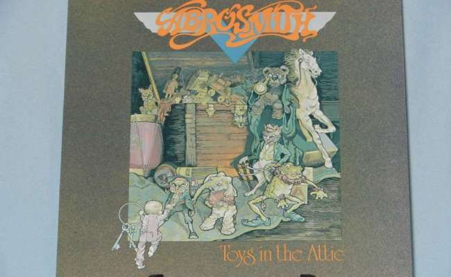Toys In The Attic By Aerosmith Lp With Rcleaner Ref