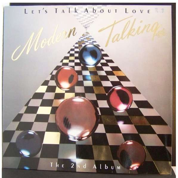 Lets Talk About Love The 2nd Album By Modern Talking LP With Bluejazzman Ref117504613