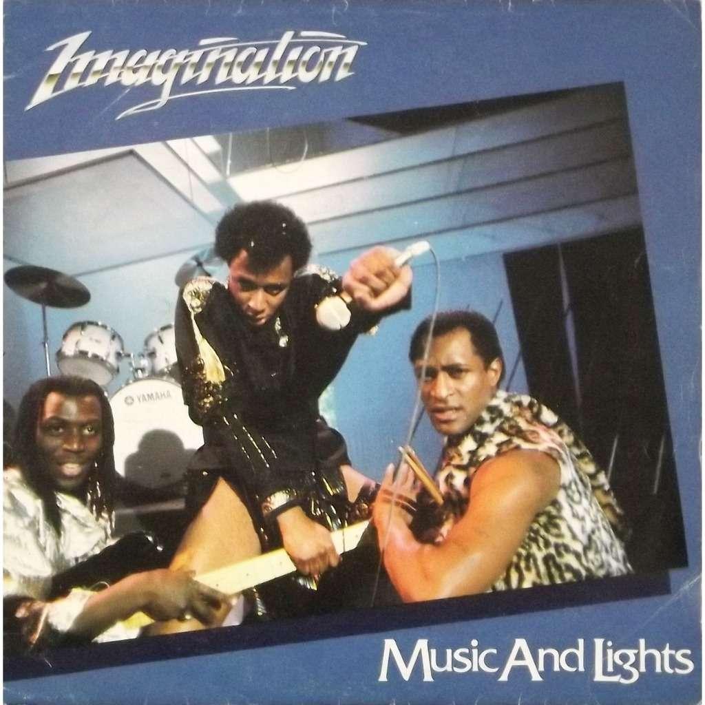 Music and lights de Imagination SP chez vinyl59  Ref