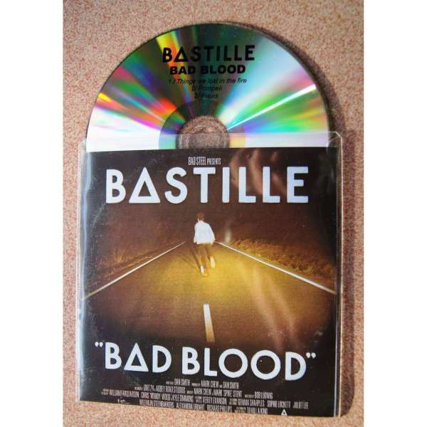 Bad Blood Promo Bastille Mcd With 4059jacques - Ref