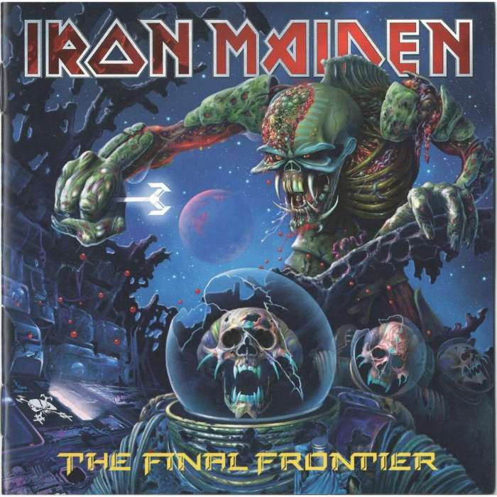 Image result for iron maiden the final frontier