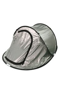 Mountain Warehouse Black Out Pop-Up Double Skin 3 Man Tent ...