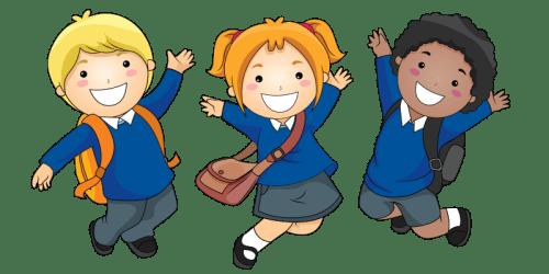 Clipart School Uniform Cartoon