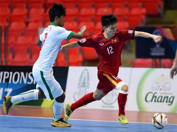 VN tie with Indonesia in Asia futsal event - News VietNamNet