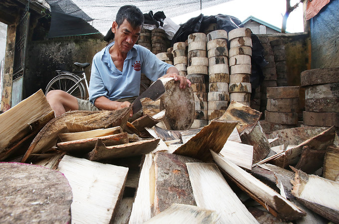 Village of Ong Hao preserves the art of drum-making, entertainment events, entertainment news, entertainment activities, what's on, Vietnam culture, Vietnam tradition, vn news, Vietnam beauty, news Vietnam, Vietnam news, Vietnam net news, vietnamnet news,