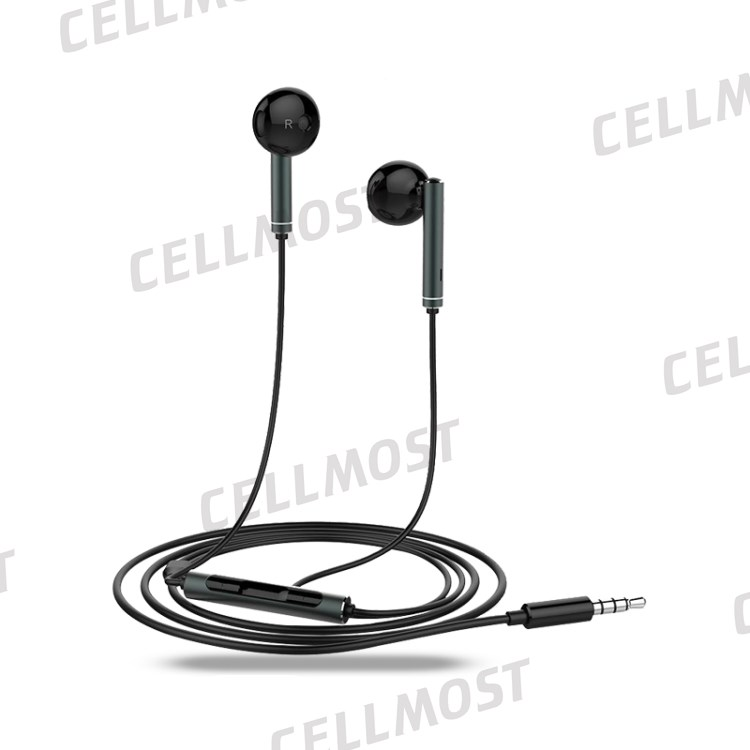 OEM HUAWEI AM116 3.5mm Wired Stereo In-ear Earphone with