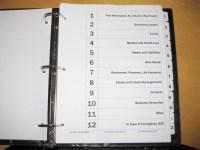 Life Affairs Information Binder