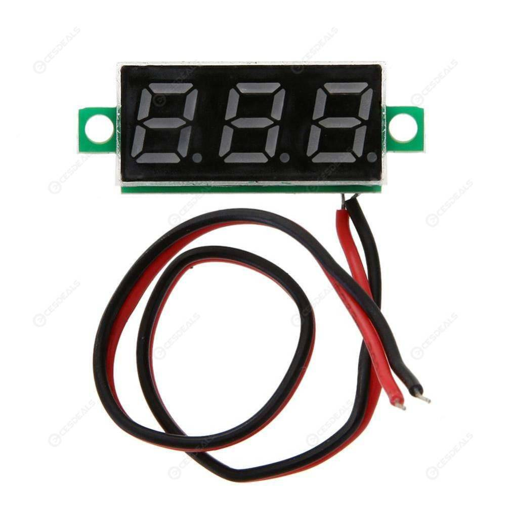 medium resolution of mini 0 28inch dc 2 5v 30v led digital battery voltage meter voltmeter panel