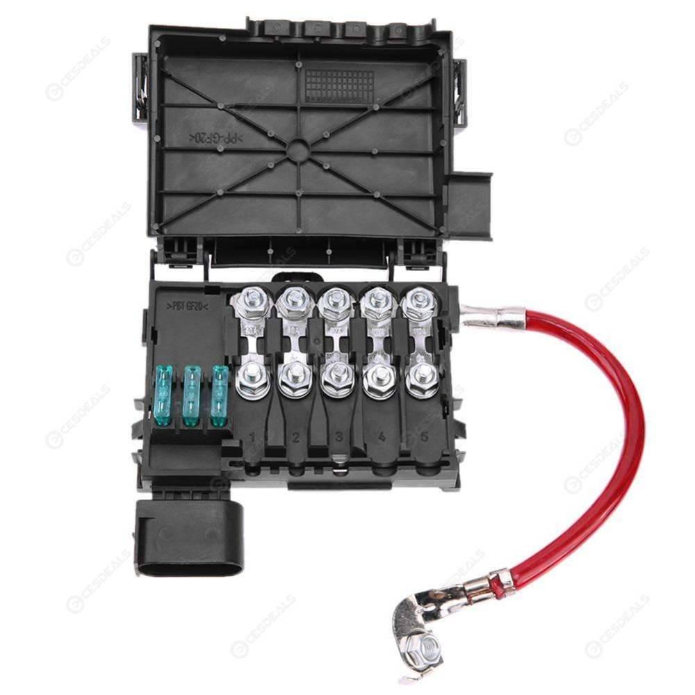 medium resolution of car fuse box battery terminal accessory for bora golf mk4 98 05