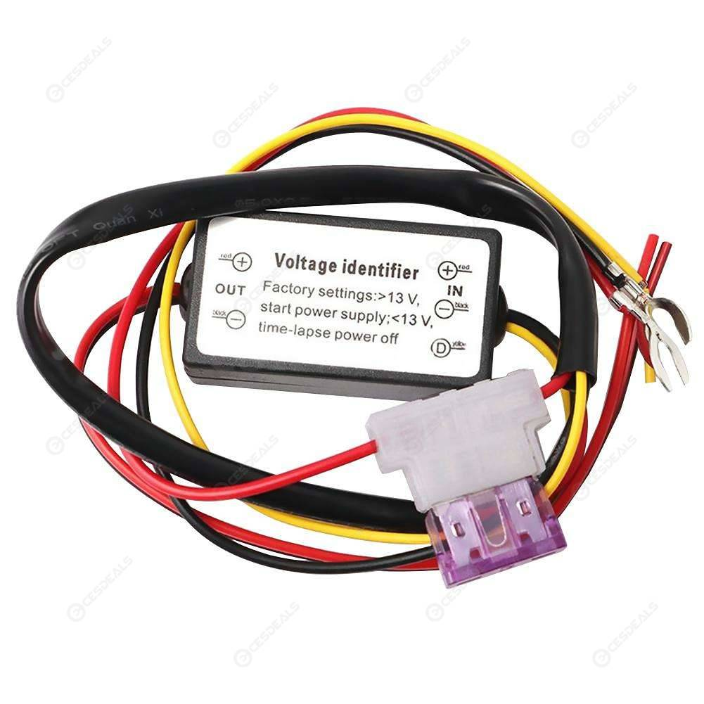 hight resolution of drl controller car auto led daytime running light relay harness dimmer