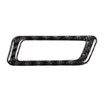 Carbon Fiber AC Vent Outlet Frame Trim Cover Sticker for