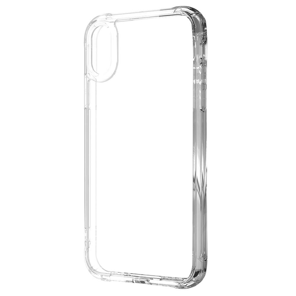 Shockproof Phone Case for iPhone XR TPU Frame Acrylic Back