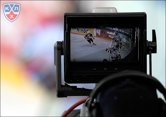 Матчи КХЛ на ТВ