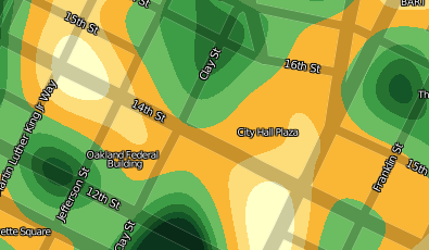 Oakland Crime as Heat Maps