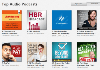 Chandoo.org Podcast - become awesome in analysis, charting, dashboards & VBA is at #1 position on iTunes
