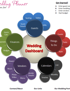 Wedding planner homepage also free excel template download today chandoo rh