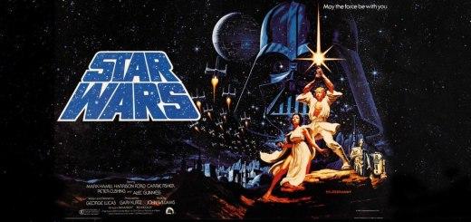 Movie, Star Wars Episode IV: A New Hope(美國) / 星際大戰四部曲:曙光乍現(台) / 星球大战IV:新希望(中) / 星球大戰:新的希望(港), 電影海報, 橫幅