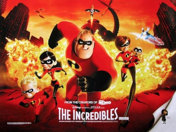 Movie, The Incredibles(美國, 2004) / 超人特攻隊(台) / 超人总动员(中) / 超人特工隊(港), 電影海報, 美國, 橫版