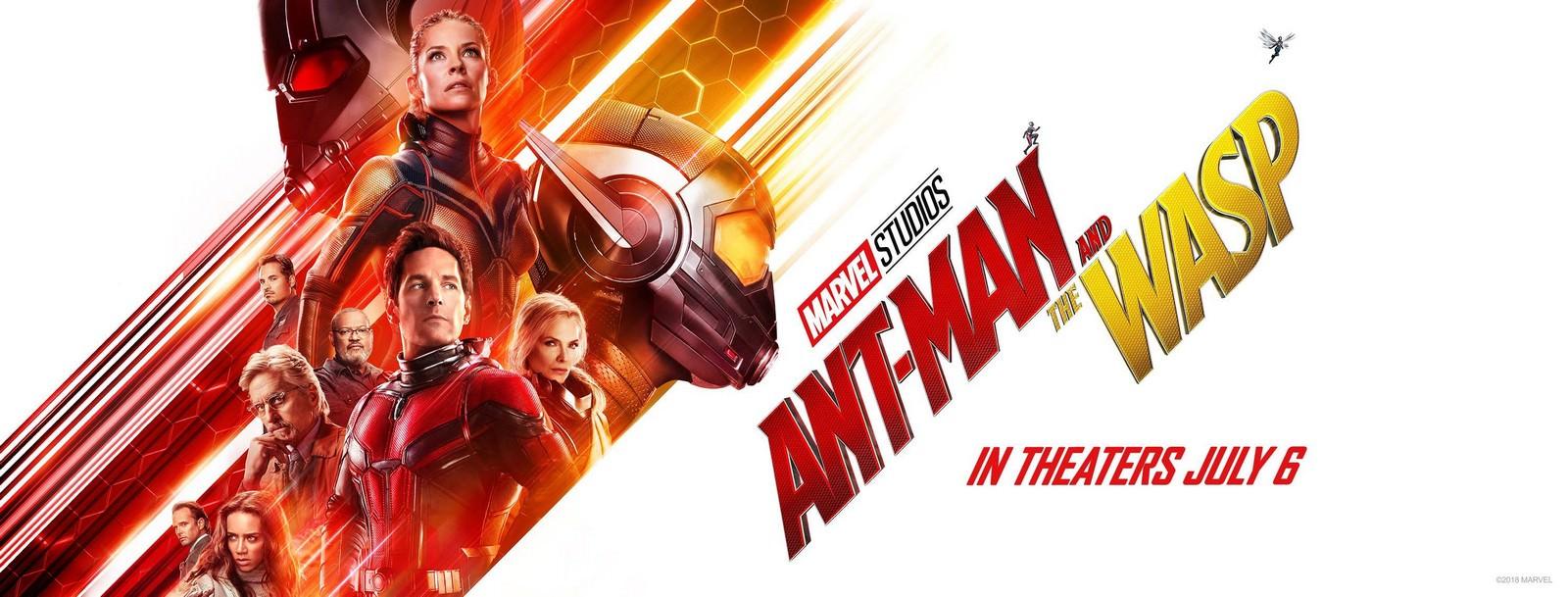 Movie, Ant-Man and the Wasp(美國.英國) / 蟻人與黃蜂女(台) / 蚁人2:黄蜂女现身(中) / 蟻俠2:黃蜂女現身(港), 電影海報, 美國, 橫版