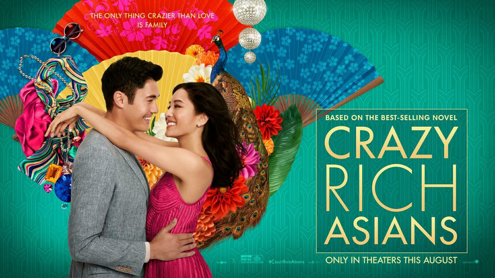 Movie, Crazy Rich Asians(美國, 2018) / 瘋狂亞洲富豪(台) / 我的超豪男友(港) / 摘金奇缘(網), 電影海報, 美國, 橫版