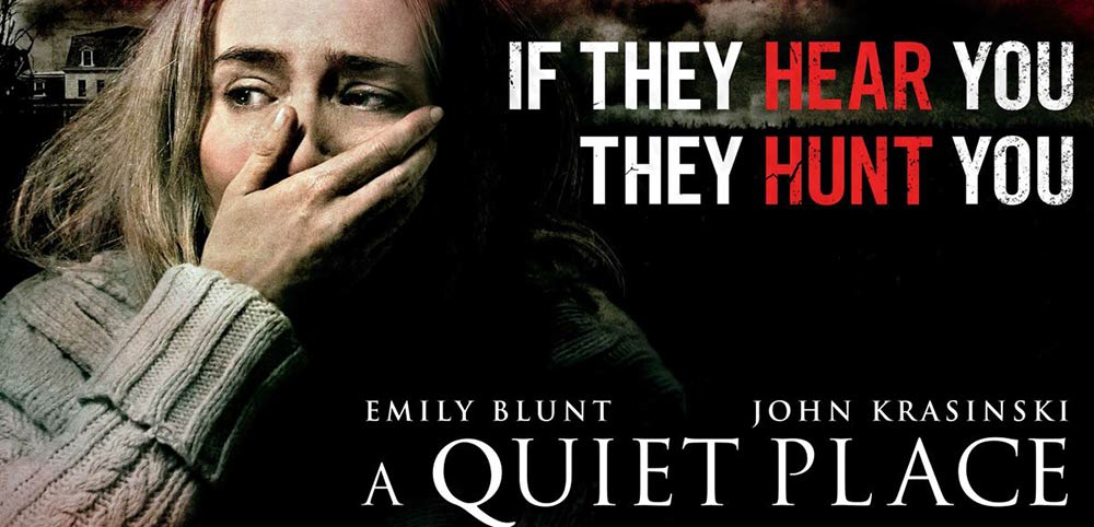 Movie, A Quiet Place(美國) / 噤界(台) / 無聲絕境(港) / 寂静之地(網), 電影海報, 美國, 橫版