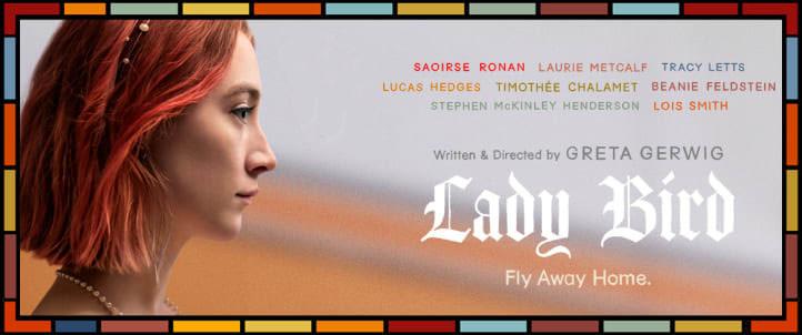 Movie, Lady Bird(美國) / 淑女鳥(台) / 不得鳥小姐(港) / 伯德小姐(網), 電影海報, 美國, 橫板