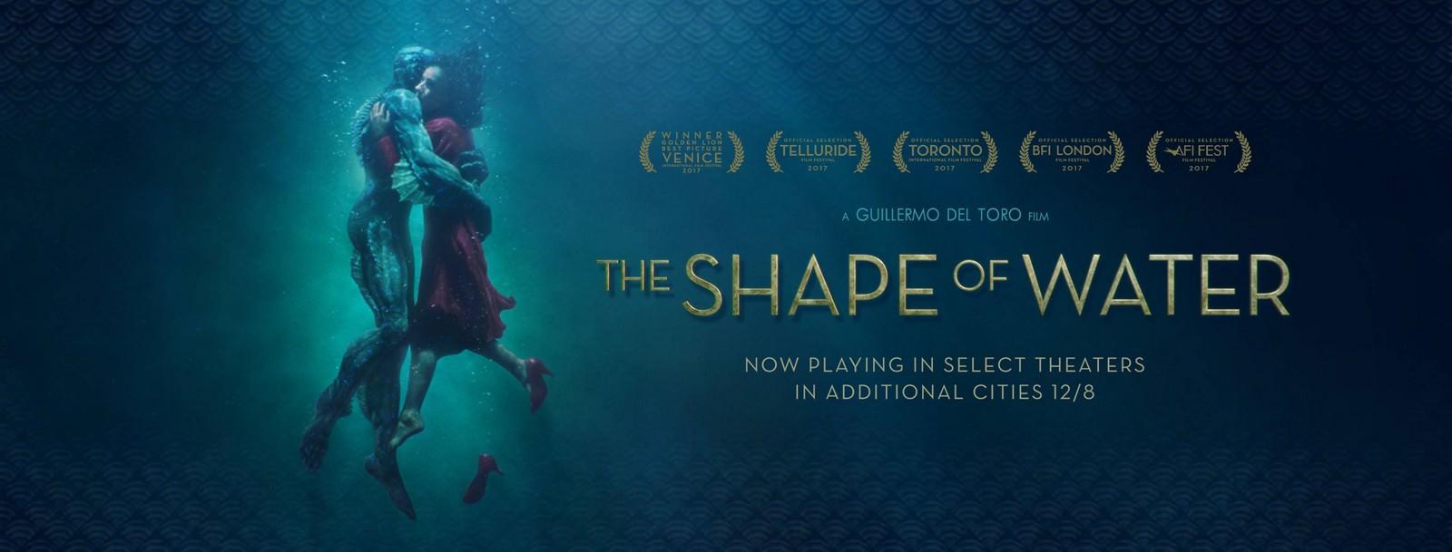 Movie, The Shape of Water(美國) / 水底情深(台) / 忘形水(港) / 水形物语(網), 電影海報, 美國, 橫版