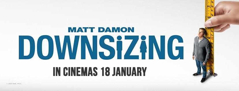 Movie, Downsizing(美國) / 縮小人生(台) / 縮水人間(港), 電影海報, 馬來西亞