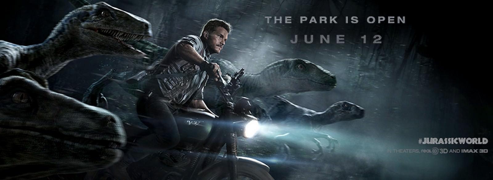 Movie, Jurassic World(美國, 2015) / 侏羅紀世界(台.港) / 侏罗纪世界(中), 電影海報, 美國, 橫版