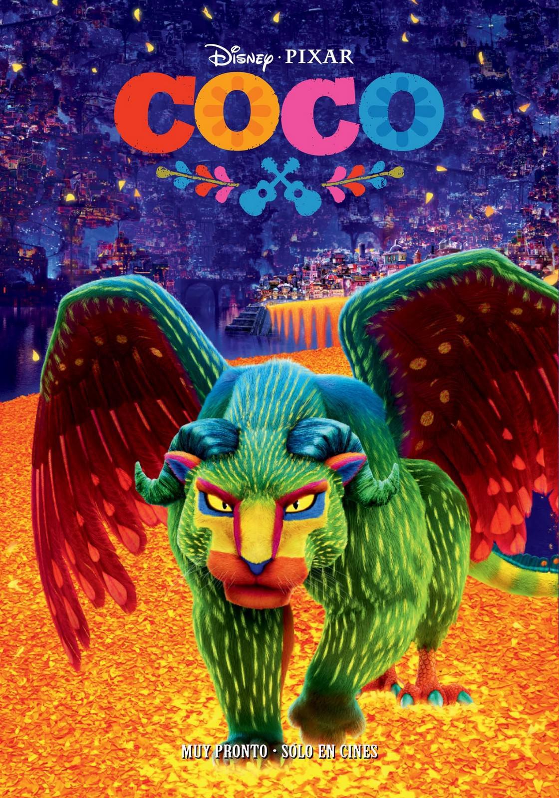 Movie, Coco(美國, 2017年) / 可可夜總會(台灣) / 寻梦环游记(中國) / 玩轉極樂園(香港), 電影海報, 墨西哥, 角色
