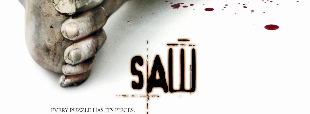 Movie, Saw(美國, 2004年) / 奪魂鋸(台灣) / 恐懼鬥室(香港) / 电锯惊魂(網路), 電影海報, 美國, 橫版