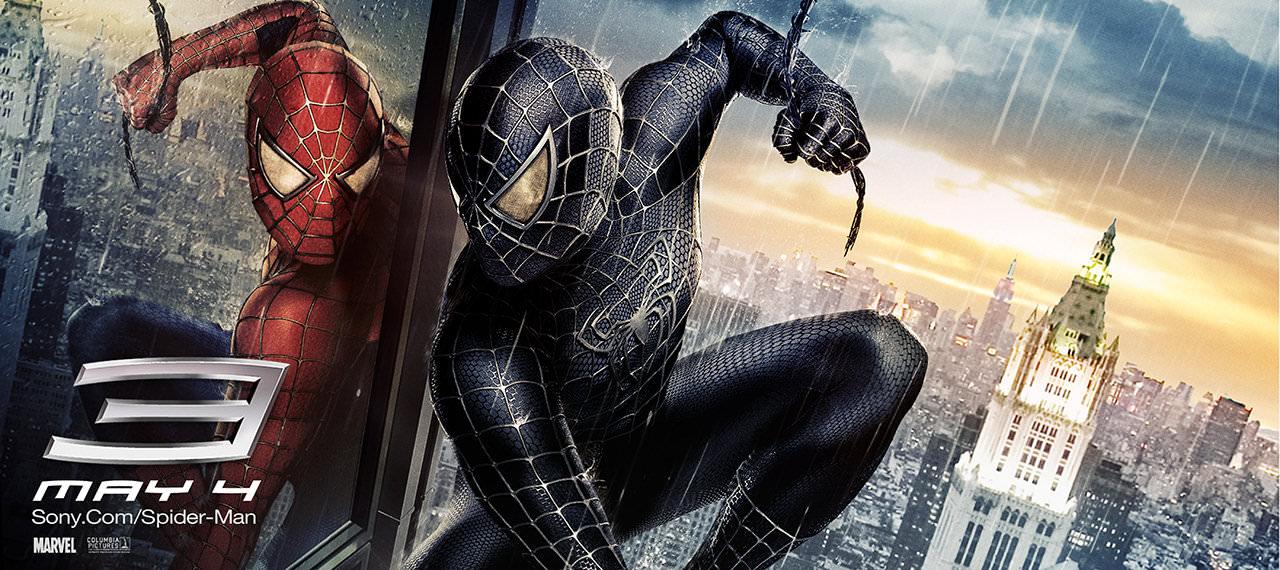 Movie, Spider-Man 3(美國, 2007年) / 蜘蛛人3(台灣) / 蜘蛛侠3(中國) / 蜘蛛俠3(香港), 電影海報, 美國, 橫版
