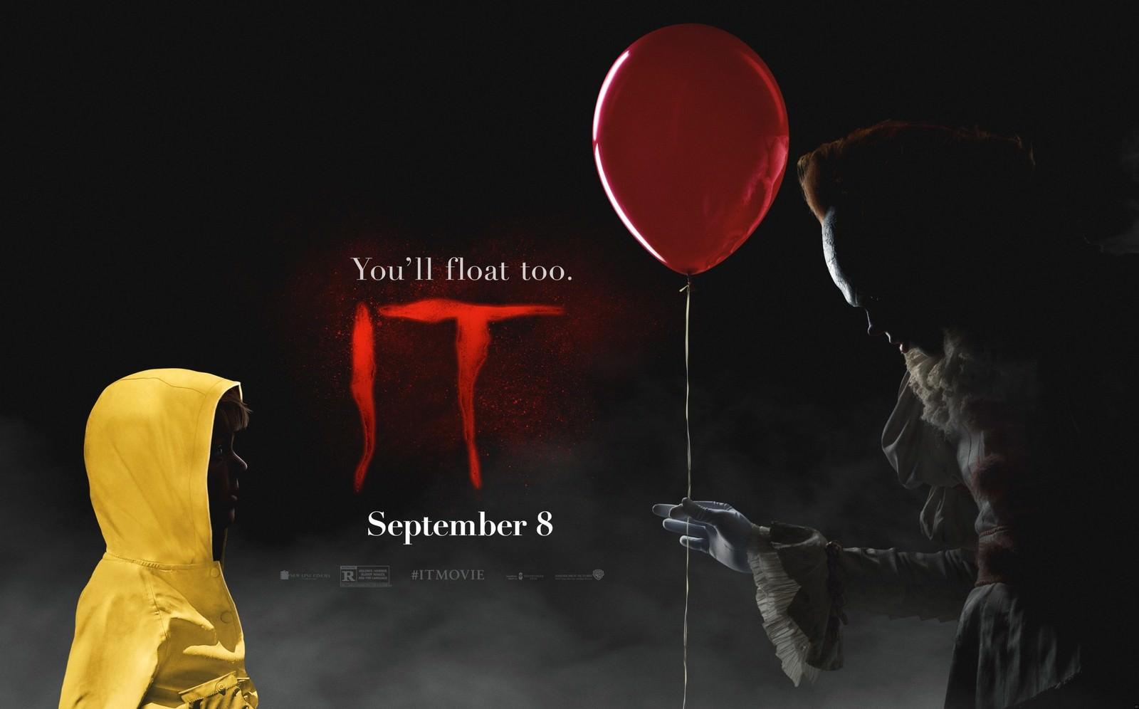 Movie, It(美國, 2017年) / 牠(台灣) / 小丑回魂(香港), 電影海報, 美國, 橫版