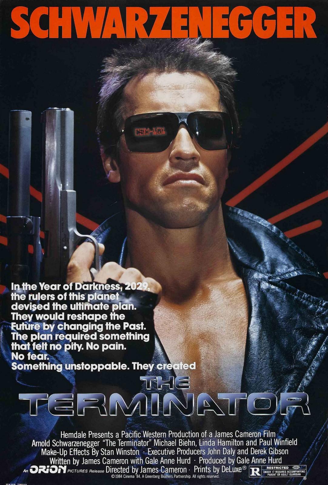 Movie, The Terminator(美國, 1985年) / 魔鬼終結者(台灣) / 未來戰士(香港) / 终结者(網路), 電影海報, 美國