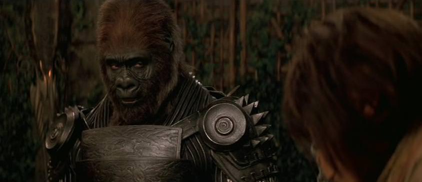 Movie, Planet of the Apes(美國, 2001年) / 決戰猩球(台灣) / 猿人爭霸戰(香港), 電影角色與演員介紹