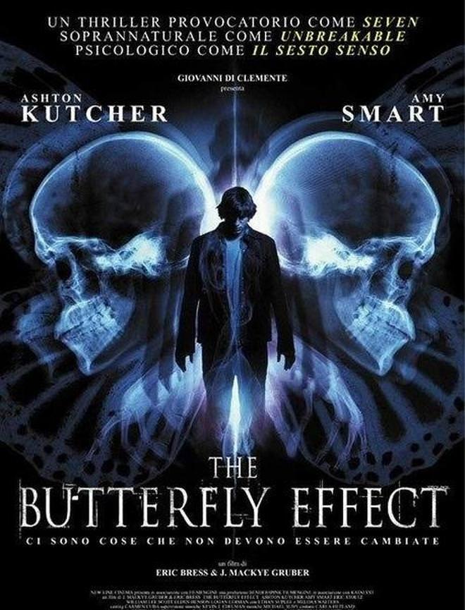 Movie, The Butterfly Effect(美國, 2004年) / 蝴蝶效應(台灣) / 連鎖蝶變(香港), 電影海報, 美國