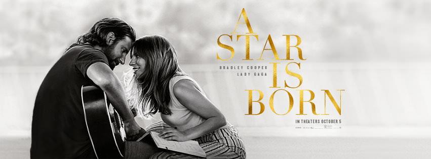 Movie, A Star Is Born(美國, 2018年) / 一個巨星的誕生(台灣) / 星夢情深(香港) / 一个明星的诞生(網路), 電影海報, 美國, 橫版