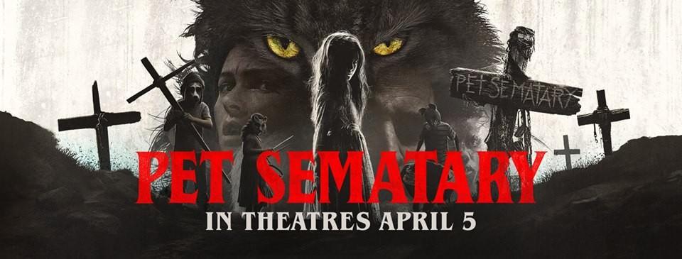 Movie, Pet Sematary(美國, 2019年) / 禁入墳場(台灣) / 詭墓(香港) / 宠物坟场(網路), 電影海報, 美國, 橫版