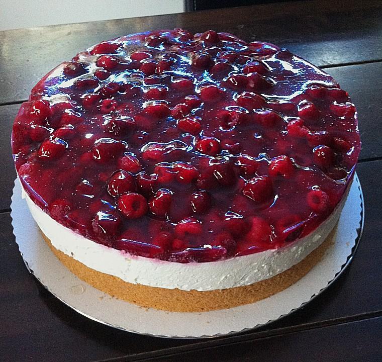 Himbeer  Ksesahne  Torte von Himbeermousse  Chefkoch