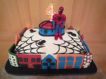 Spiderman fr die Kita  Motivtorten Fotos Forum