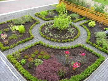 vorgarten gestalten rindenmulch – msglocal, Gartenarbeit ideen