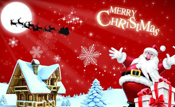 圣誕節的祝福語(英文)-