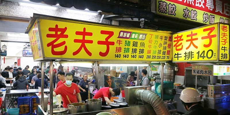 台中南區│新老夫子牛排*忠孝夜市老字號平價牛排推薦,沙拉吧、飲料、濃湯無限量供應!
