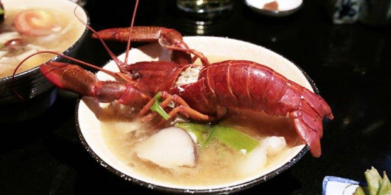台中北屯│那一間日式串燒居酒屋*你沒看錯!整隻龍蝦的超級豪華版味噌湯只要100元!台中宵夜推薦來這就對了!