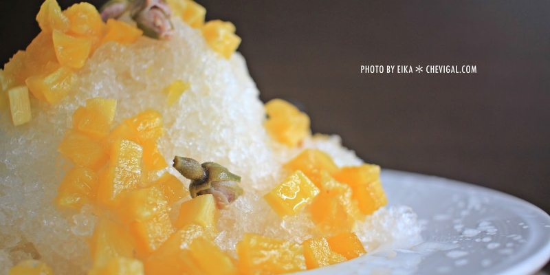 台中烏日│蔡冰甜品*雪山上的愛情最純粹。全台獨有的鳳梨玫瑰冰。等你來感受芬芳原味