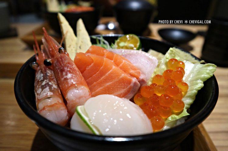 台中北屯│丼丼亭*丼飯咖哩飯生魚片與沙拉。午間限定套餐比較便宜喔