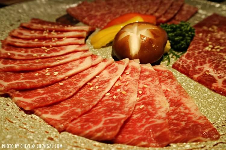 台中西屯│雲火日式燒肉*Prime 極上美牛套餐。夏日品嚐燒肉也能清爽無負擔