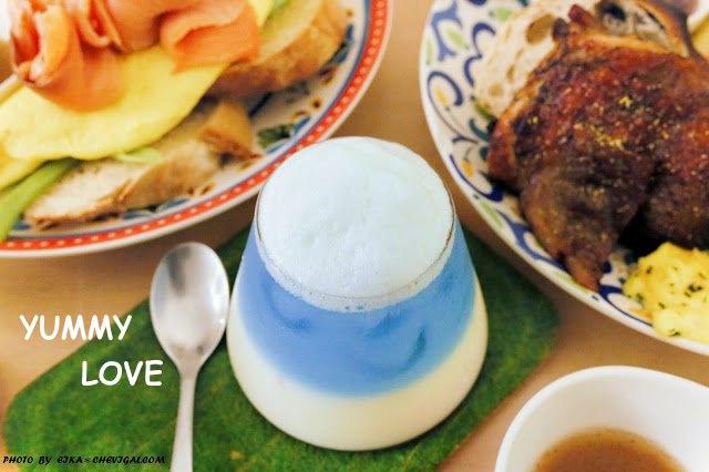 台中人氣美食│野米樂,異國風味早午餐超澎派!夢幻馬卡龍色系飲品萌翻天!
