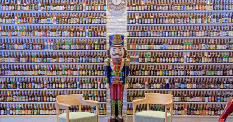 400多款精釀啤酒喝不完!隱身在青海路的薩克森餐酒館旗艦店,餐點氣氛都不錯!