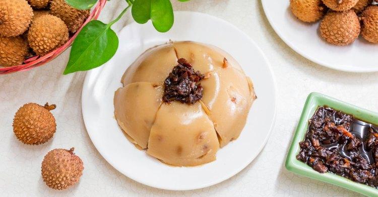 全臺獨家荔枝碗粿就在這!芬園三寶田媽媽,豐富荔枝風味餐、荔枝雞湯值得來嚐鮮!
